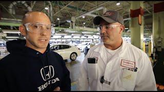 How The Honda Accord is Built (Inside the Factory) PLUS 1st FULL TOUR of Honda R&D