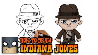How to Draw Indiana Jones (Art Tutorial)