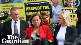 Sinn Féin warns Boris Johnson over no-deal Brexit