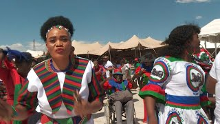 Gambar cover Namibia's Swapo party holds final election rally | AFP