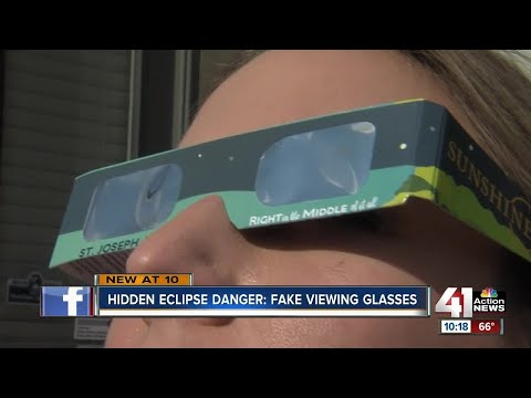Buyer beware: Your solar eclipse glasses could be fake