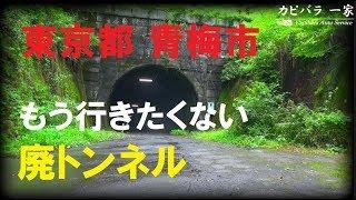 東京都青梅市にある吹上トンネル。今は、新吹上トンネルが開通している...