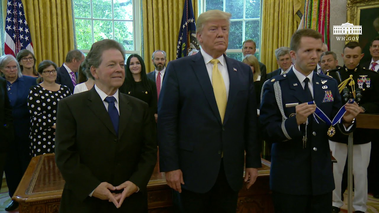 The White House - President Trump Presents the Presidential Medal of Freedom to Arthur Laffer