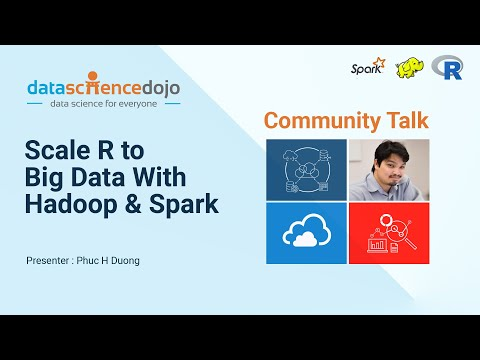 Scale R to Big Data Using Hadoop and Spark - Phuc H Duong