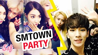 Super Junior, SHINEE Support SNSD (Girls' Generation) Party Comeback Video l @Soshified