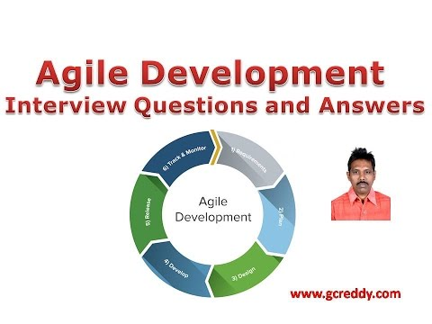 Agile Development Interview Questions and Answers ~ Software Testing