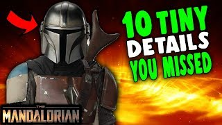 The Mandalorian: 10 Tiny Details You May Have Missed - Episode 1 Explained