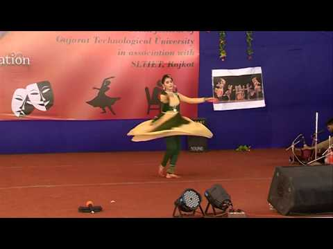 Indian classical dance//kathak dance//indian cultural program// youth festival 2017