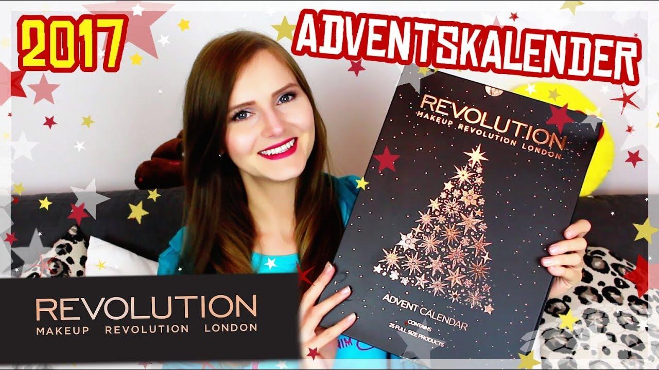 Beauty Weihnachtskalender.Makeup Revolution Adventskalender 2017 Unboxing