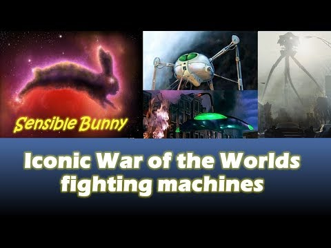 Iconic War Of The Worlds Fighting Machines