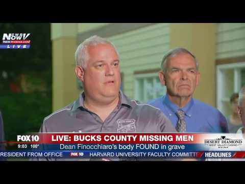 BREAKING: Police Have Found REMAINS Of 4 Missing Men In Bucks County, PA (FNN)