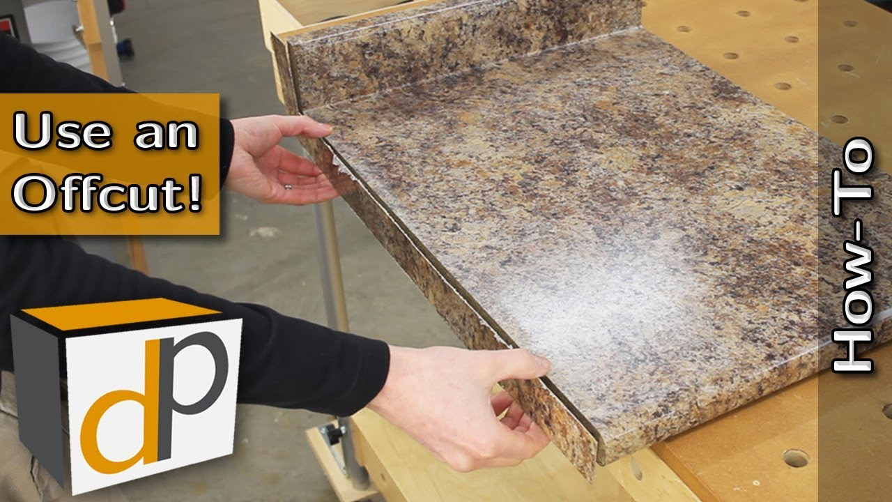 How To Make And Install A Countertop End Cap Youtube