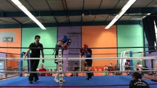 Muay Thai - Veera Boxing Gym (Alper Kara) Vs Team unknown,  Montpon 12/05/2012