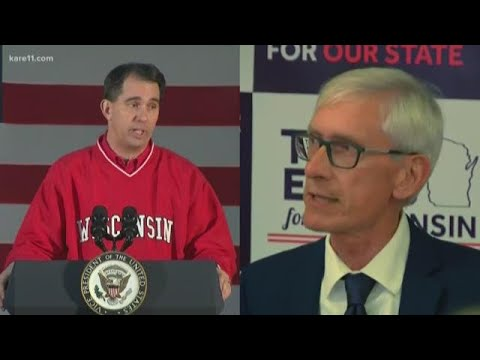Walker concedes defeat to Democrat Evers