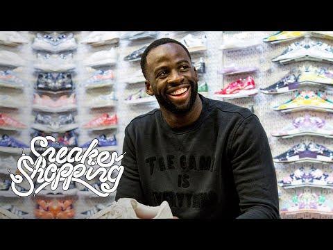 Draymond Green na Sneaker Shopping z Complex