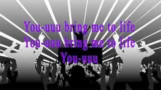 MK ft Milly Pye - Bring me to life (Lyrics)