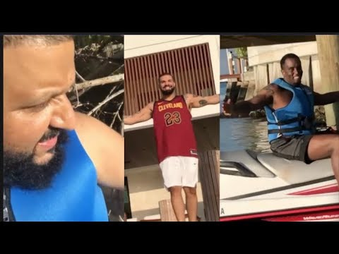 Dj Khaled Has Near Death Experience, Gets Stuck On Jet Ski But Drake & Diddy Save Him Mp3