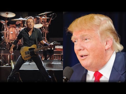 HE HAS LOST IT! BRUCE SPRINGSTEEN JUST DID SOMETHING UNFORGIVABLE TO DONALD TRUMP TODAY!