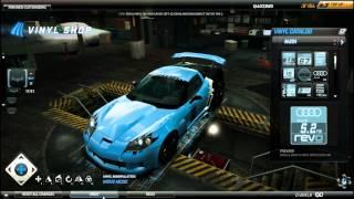 Need For Speed World - Corvette Vinyls Tutorial