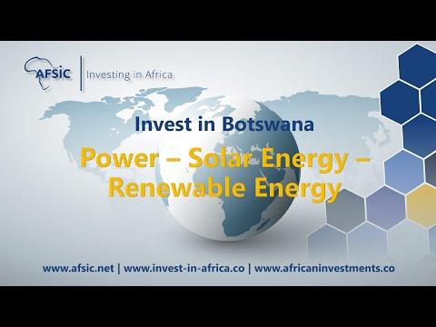 Botswana Power - Solar Energy Botswana – Renewable Energy Companies in Botswana