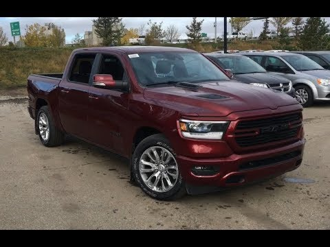 2019 Ram 1500 Sport 4X4 | Panoramic Sunroof | Canada ...