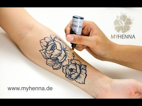 MY HENNA - Tattoopapier Tutorial