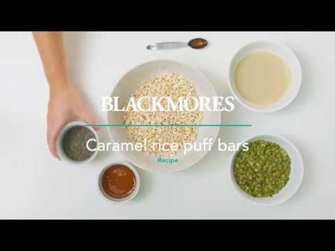 Caramel Rice Puff Bars