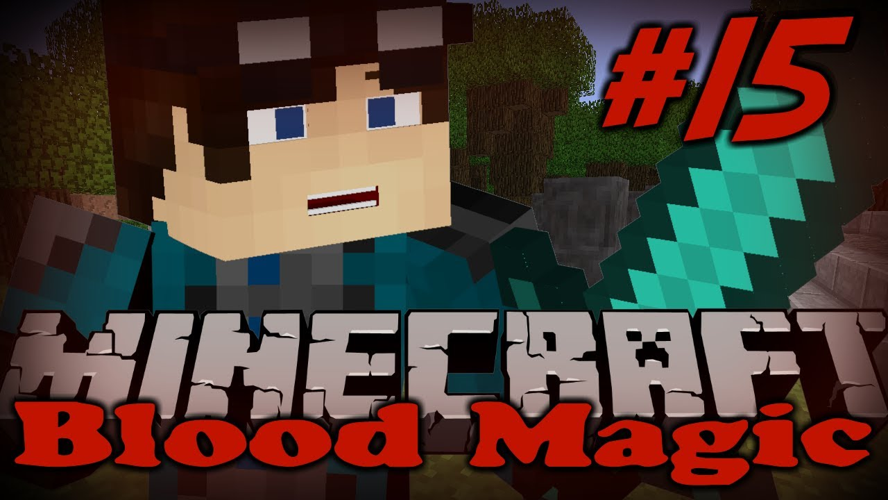 Minecraft Modded Survival | Blood Magic | Ritual of Binding