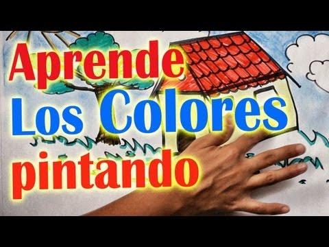 Los Colores - Aprende cantando y pintando - Para niños y bebés. # from YouTube · Duration:  5 minutes 38 seconds