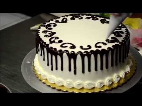 How To Decorate A Cake In 2 Minutes - Bakery Secret