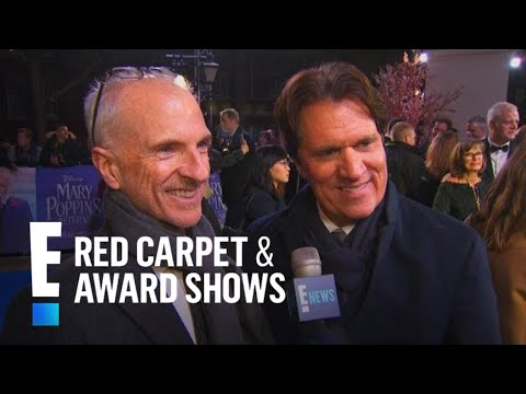 Rob Marshall & John DeLuca Talk Emily Blunt & Julie Andrews | E! Red Carpet & Award Shows
