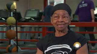 Willie Murphy on the Today Show - Bodybuilder Over 80 Year's Old Deadlifts Double Her Body Weight