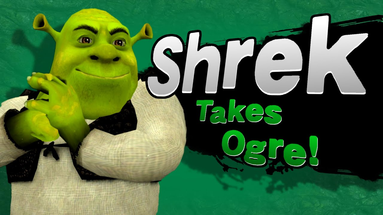 Smash Bros For Wii UShrek Takes Ogre MOD YouTube