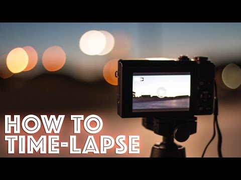 How to shoot a Time-lapse video with the Canon G7x Mark ii