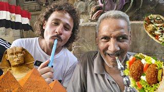 Probando comida callejera en EGIPTO 🌯🇪🇬