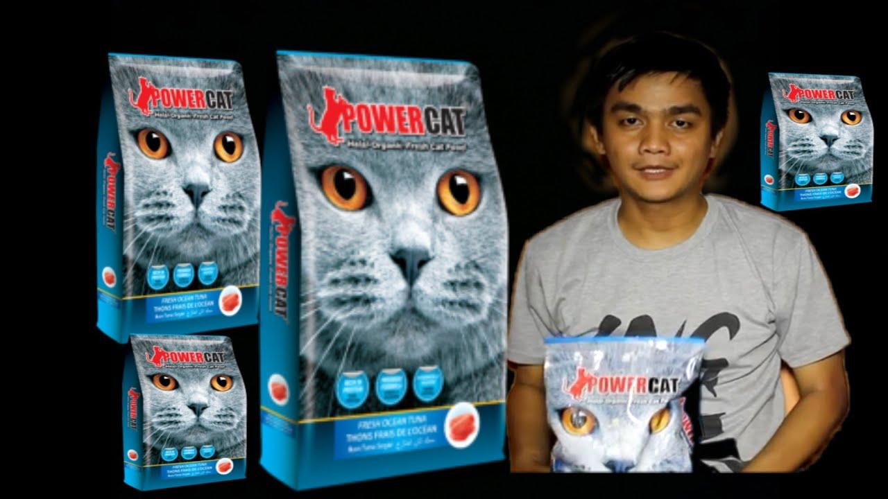Review Power Cat Makanan Kucing Halal Youtube
