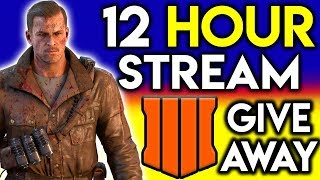 12 Hour 5K Celebration!! || BLACK OPS 4 GIVEAWAY is LIVE! || (COD, Fortnite, Smash Tourney and more!