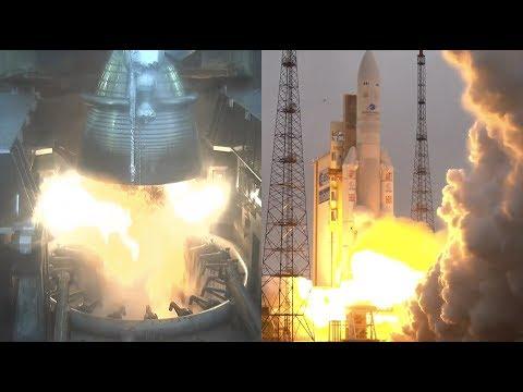 Ariane 5 ECA launches HS- 4/SGS-1 and GSAT-31