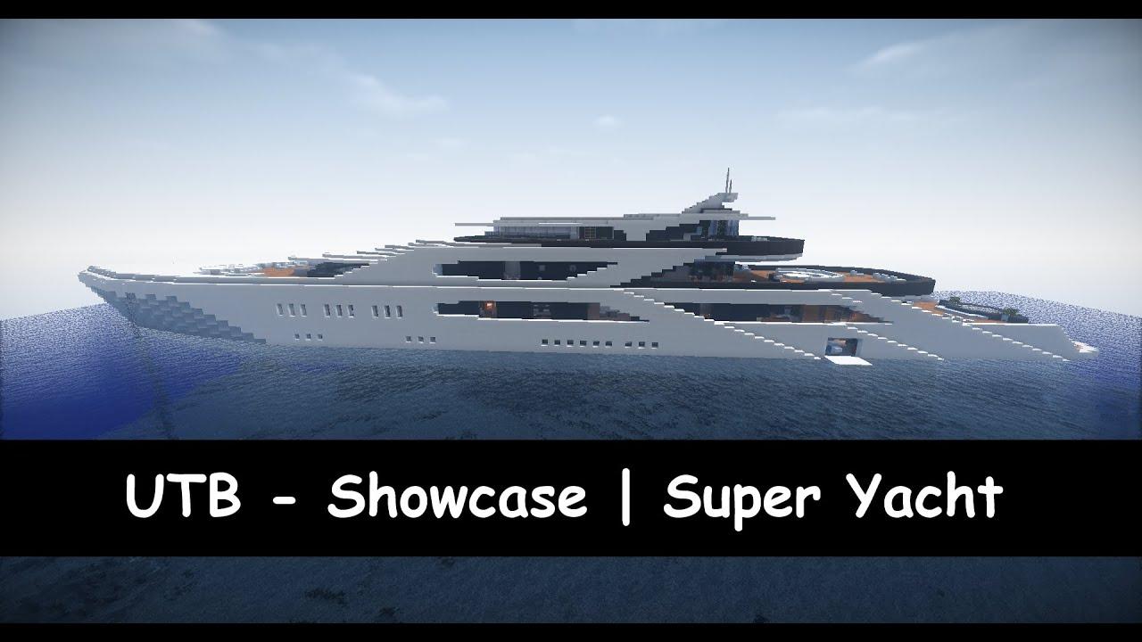 Minecraft UTB Showcase Super Yacht YouTube
