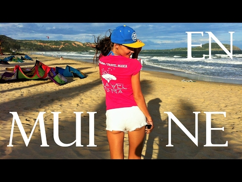 Mui Ne 2017 | English | Capital of kitesurfing in Asia | Backpacking traveling | Vietnam