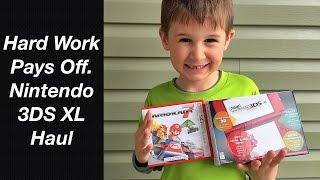 New Nintendo 3DS XL Haul - Hard Work Pays Off