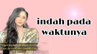 Dewi Persik - Indah pada waktunya (video karaoke duet bareng artis tanpa vokal) starmaker cover