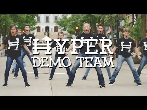 Best Program for Martial Arts Performances | Hyper Demo Team