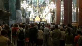 """No Santuário de Jasna Gora (Czestochowa -Polónia) onde se venera a """"Virgem Negra"""""""