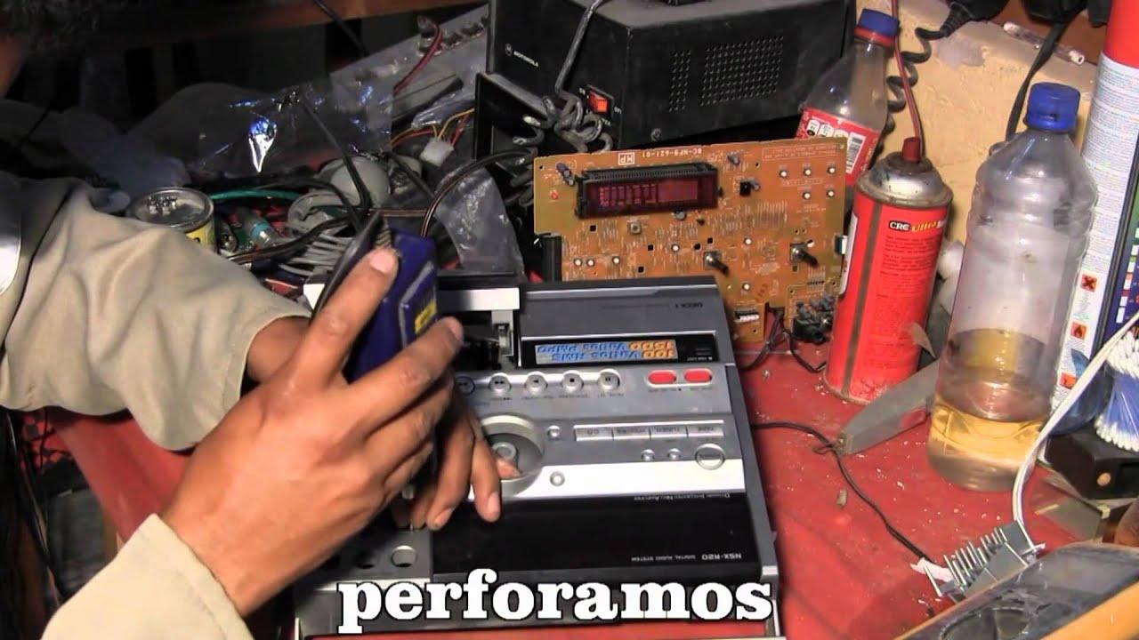Instalacion Reproductor Usb A Equipo De Sonido Youtube