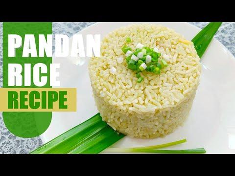 Pandan Rice Recipe