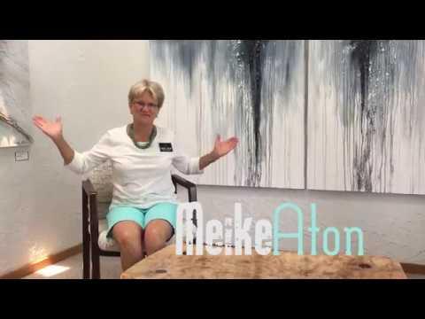Painter Meike Aton Distributes Techniques