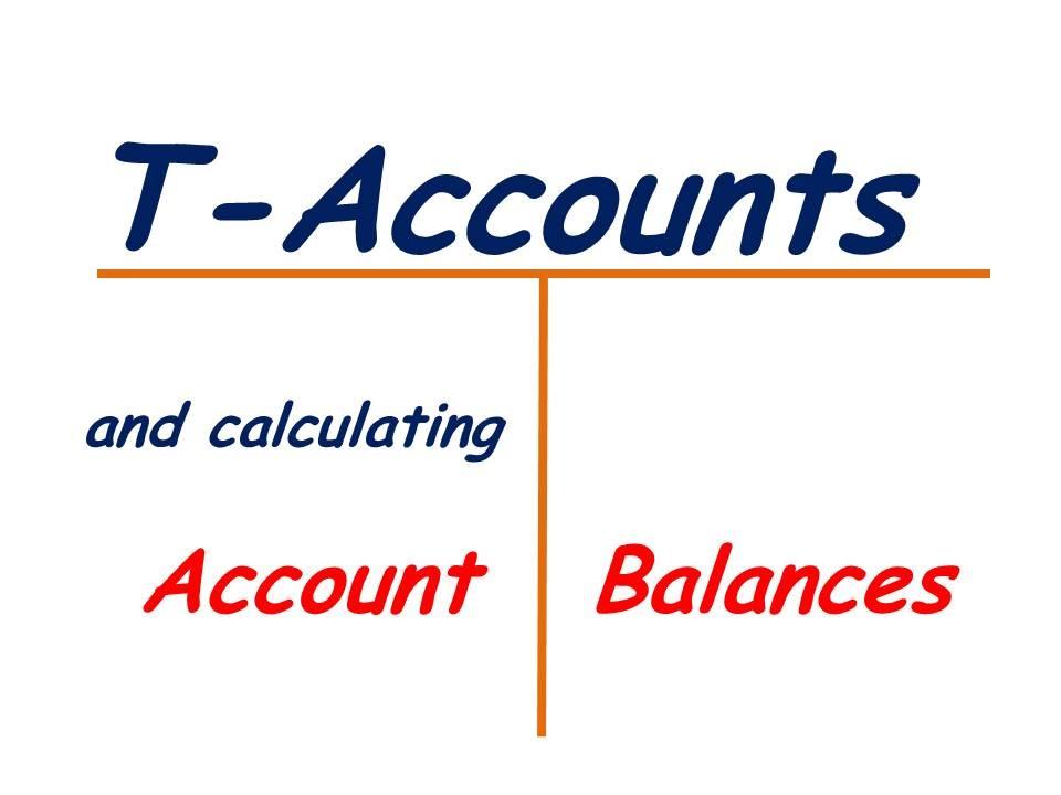 t accounts and account balances youtube