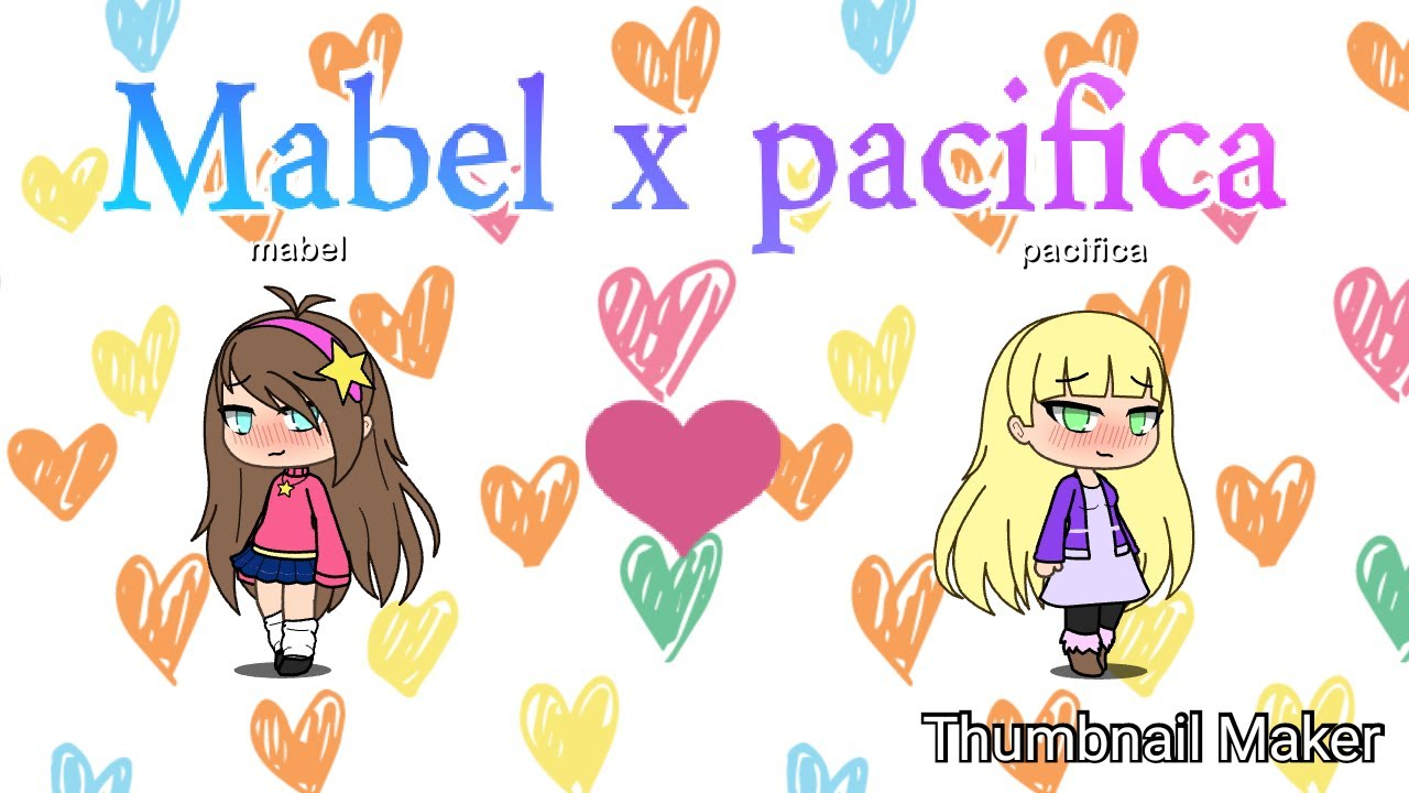 Mabel x Pacifica (Gravity Falls) (GlM) #1