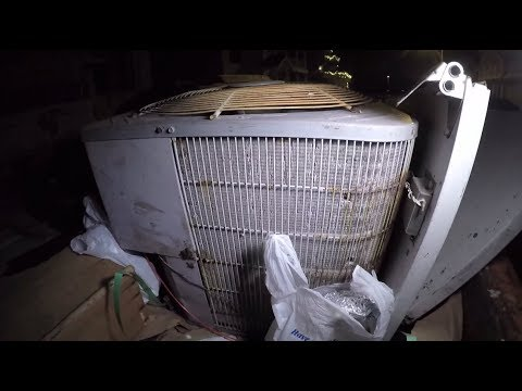 SCRAP METAL DUMPSTER SCORES AT NIGHT!